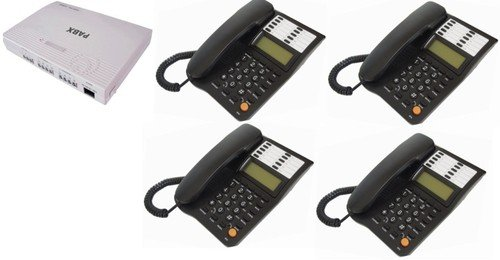 Office 308 Phone System 3 Lines / 8 Users INCLUDES 4 Phones, can be self installed image