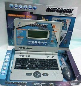 Learning Laptop 30 activities note book chargeable