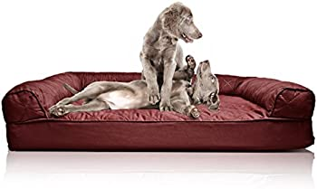 Furhaven Deluxe Quilted Sofa Orthopedic Pet Bed