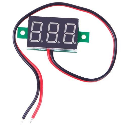 """New Mini 0.36"""" 3 Digital LED Display DC 2.5-30V Red Volt Voltage Meter Voltmeter"""