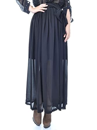 sheer chiffon skirt