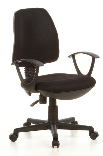 Office chair / swivel chair CITY 10 black mesh