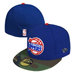 Los Angeles Clippers New Era NBA Camo 59Fifty Hat 7 3 8 by New Era