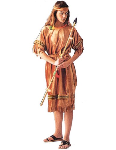Adult-Costume Indian Maiden Halloween Costume - Most Adults