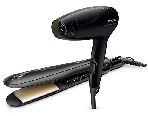 Philips HP8646 Kerashine Dryer and Straightener (Black)