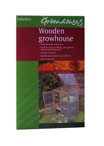 Botanico Let's Grow Wooden Growhouse