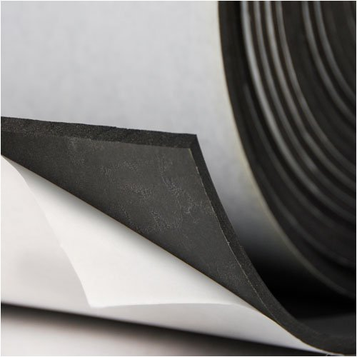 Sponge Neoprene With Adhesive 1 4 Quot Thick X 54 Quot Wide X 1 Long