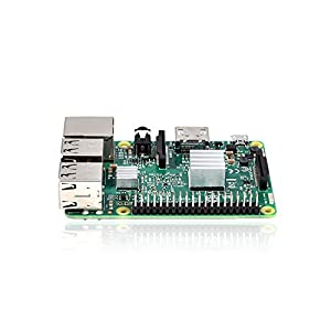Raspberry Pi 3 Model B 2016 Single Board Computer with High Performance Heatsink Set