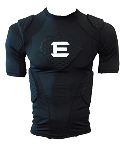 Elitetek Padded Compression Shirt Cps14 Youth And