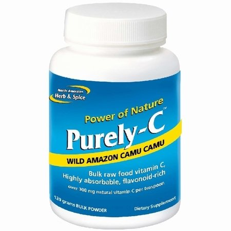 North American Herb And Spice, Purely-C Bulk Powder, 120-Grams