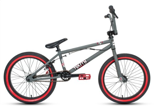 Huffy Boy's Truth Bike, Matte Grey, 20-Inch