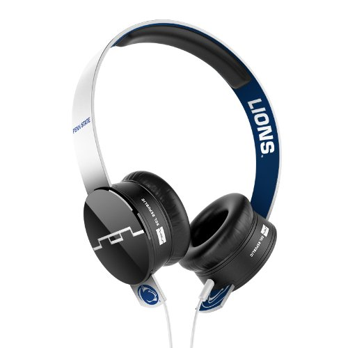 Sol Republic 1211-Pas Collegiate Series Tracks On-Ear Headphones With Three Button Remote And Microphone - Penn State University