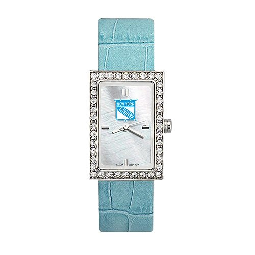 New York Rangers Ladies NHL Starlette Watch Leather Band