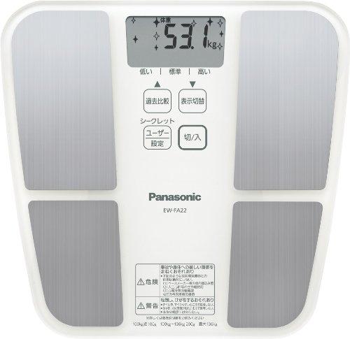 Panasonic 体組成バランス計 ホワイト EW-FA22-W