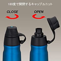 THERMOS 真空断熱スポーツボトル 0.5L ブルー FFD-500 BL