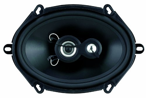 Planet Audio Tq573 5-Inch X 7-Inch 3-Way Speaker System Poly Injection Cone (Black)