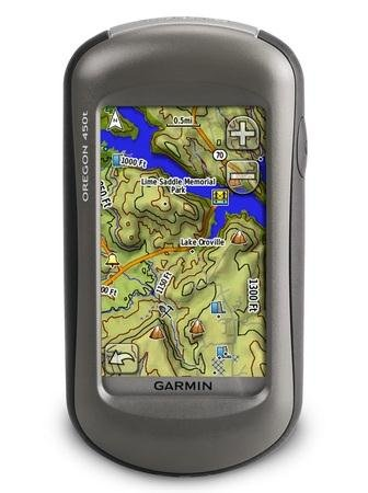 Garmin Oregon GPS 450 T