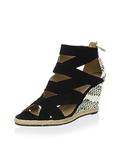 Donald J Pliner Women's Malery Wedge Sandal  [Black]