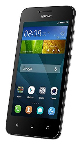 Huawei Ascend Y5 Smartphone, 8 GB, Marchio TIM, Black&White