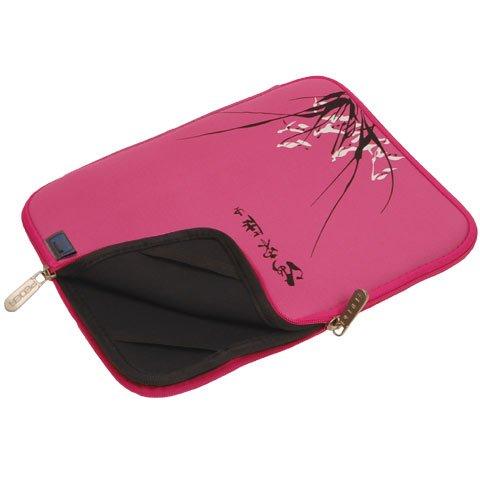 Neopren Notebooktasche in pink geeignet für Fujitsu Siemens LIFEBOOK A Serie (z.B. A1130, AH550)
