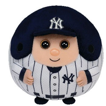 Ty Beanie Ballz Mlb New York Yankees Plush front-471087