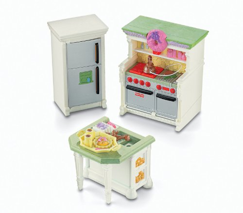 Fisher Price Loving Family Kitchen: Fisher-Price Loving Family Dollhouse Kitchen Home Garden