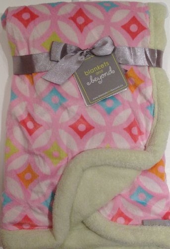 Blankets and Beyond Baby Girl Multi-colored Soft Blanket - 1