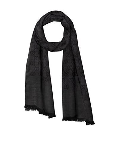 Gucci Women's Large Shawl, Dark Grey
