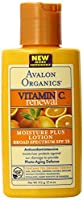 Avalon Organics Vitamin C Moisture Plus Lotion with SPF15 from Avalon