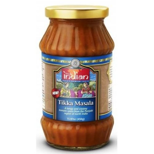 Truly Indian Tikka Masala Cooking Sauce, 15.87 Ounce -- 6 per case. gefen classic marinara pasta sauce 26 ounce 12 per case
