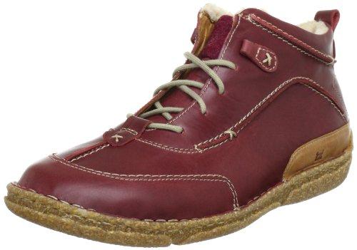 Josef Seibel Schuhfabrik GmbH Nikki Ankle Boots Womens Red Rot (bordo/natur 693) Size: 4 (37 EU)