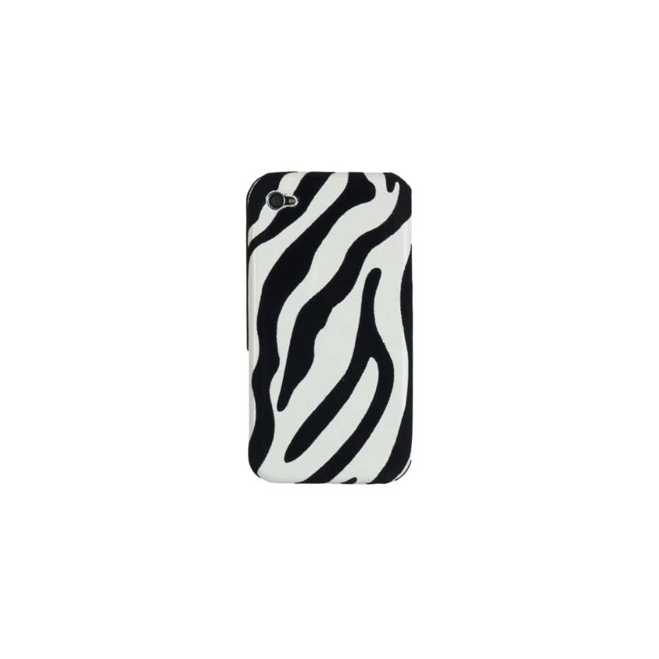 Apple iPhone 4 * Zebra Stripes * Hard Case * (Black & White) 16GB, 32GB * 4th Gen * iPhone 4G