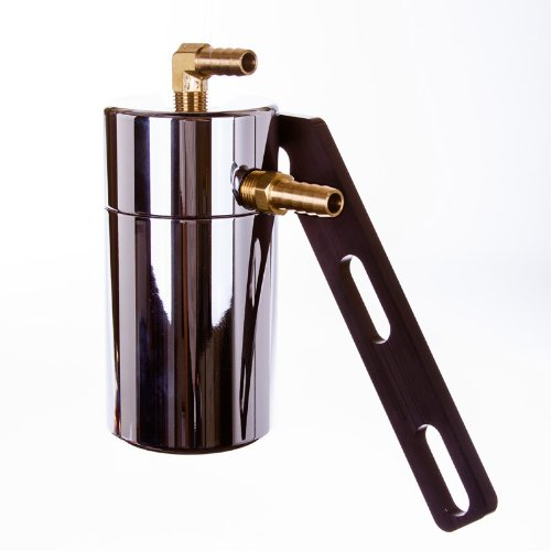 Elite Engineering's PCV Oil Catch Can - BLACK CHROME