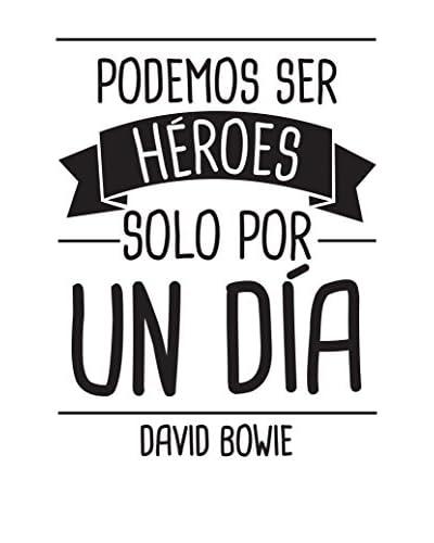 Ambiance Live Vinile Decorativo Podemos Ser Héroes De David Bowie
