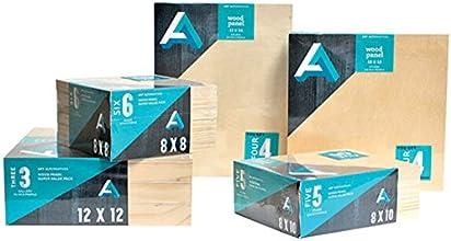 Art Alternatives Wood Panel Super Value 9x12 Pack of 5