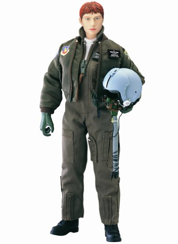 "Buy Low Price Blue Box Elite Force: F-15A Female Pilot ""Burner"" 12″ Military Action Figure (B0000BVGK8)"