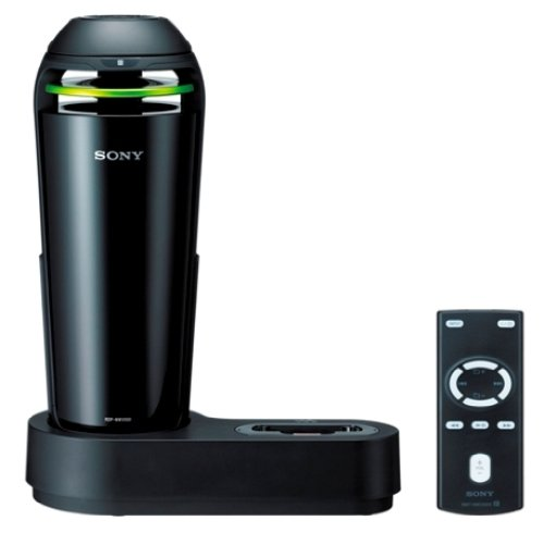 Sony Wireless Dock Speaker For Walkman | Ac100-240V 50/60Hz , Cigar Socket 12Dc | Rdp-Nwv500 B Black