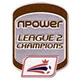 2011 FL npower League 2 Champions Patch - Pair