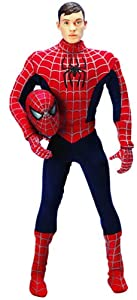"""Spider-man 12""""/30 cm Collector Series Removable mask"""