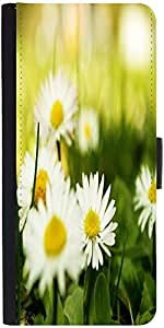 Snoogg Camomile On A Fiel Designer Protective Flip Case Cover For Sony Xperia...