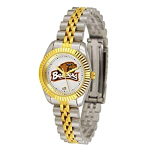 Oregon State Beavers NCAA Executive Ladies Watch (2-Tone Stainless Steel Band) by SunTime