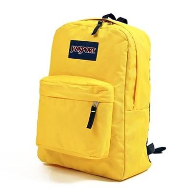 Amazon.com: JANSPORT SUPERBREAK BACKPACK SCHOOL BAG - Racer Yellow 4LA