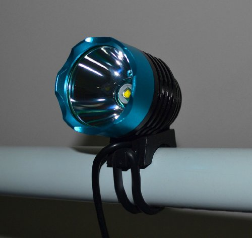 Maxloop 4 Mode 1200 Lumen Cree Xml T6 Bulb Led Bicycle Bike Headlight Lamp Flashlight Light Headlamp (Blue)