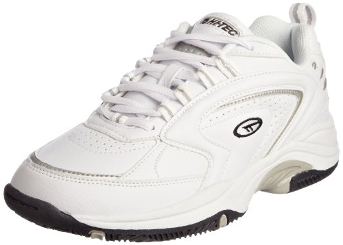 Hi-Tec Men's Blast Tp White/Silver Trainer A001518/011/01 10 UK