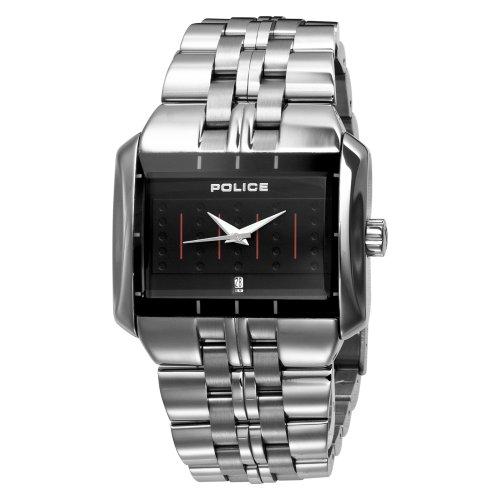 Police Men's Matrix Stainless Steel Bracelet Watch 10812JS/02M