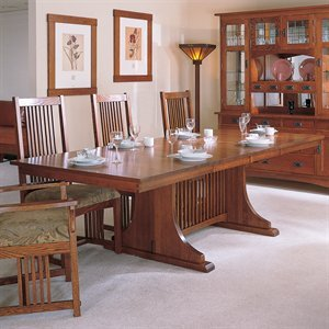 Arts & Crafts 914472 Mission Dining Table