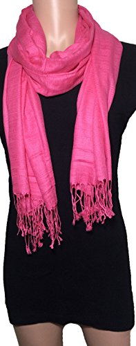 100-natural-pure-silk-scarf-solid-color-plain-scarves-soft-winter-pink-rose