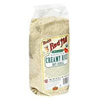Bob's Red Mill Organic Brown Rice Farina Creamy Rice Hot Cereal, 26-Ounce Bags (Pack of 4) from Bob's Red Mill