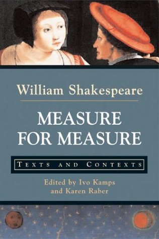 Measure for Measure: Texts and Contexts (Bedford Series...