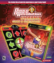 Dance Dance Revolution Ultra Mix with Dance Mat - Xbox